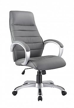 NajlacnejsiNabytok Q-046 kancelárske kreslo, sivé