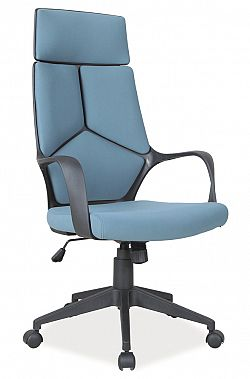 NajlacnejsiNabytok Q-199 kancelárske kreslo, modré
