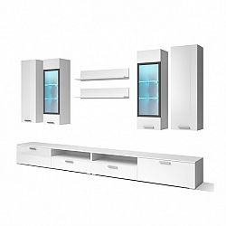 NajlacnejsiNabytok SARAH biela obývacia stena 10