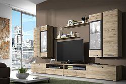 NajlacnejsiNabytok SARAH moderná obývacia zostava 10, san remo