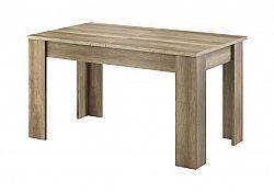 NajlacnejsiNabytok SKY Stôl L140 dub riviera