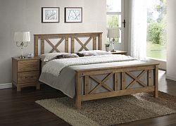 NajlacnejsiNabytok TEXAS drevená posteľ 180