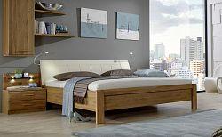 NajlacnejsiNabytok TOLEDO 421 271 posteľ s čalúnením a nožičkami 160