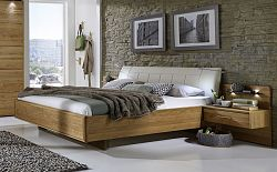 NajlacnejsiNabytok TOLEDO 421 432 posteľ s čalúnením bez nožičiek 180
