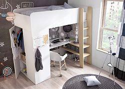 NajlacnejsiNabytok TOM detská poschodová posteľ 01