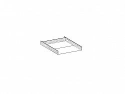 NajlacnejsiNabytok Úložný priestor LORANO 80 x 190/200 cm