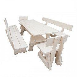NajlacnejsiNabytok Záhradný stôl MO266 lakovaný