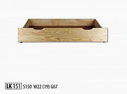 NajlacnejsiNabytok Zásuvka pod posteľ LK151