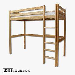 Poschodová posteľ Alsea s latkovým roštom