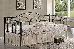 Signal kovová posteľ: birma s roštom