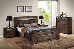 TIROL manželská posteľ 180
