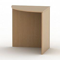 Stôl rohový oblúkový, buk, TEMPO ASISTENT NEW 024
