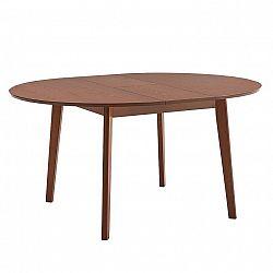 Jedálenský stôl, rozkladací, buk merlot, ALTON