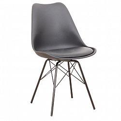 Stolička, čierna, TAMORA