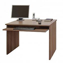 Písací stôl, slivka, JOHAN NEW 02