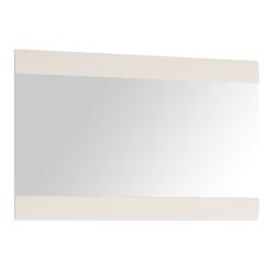Zrkadlo malé, biela extra vysoký lesk HG, LYNATET TYP 122