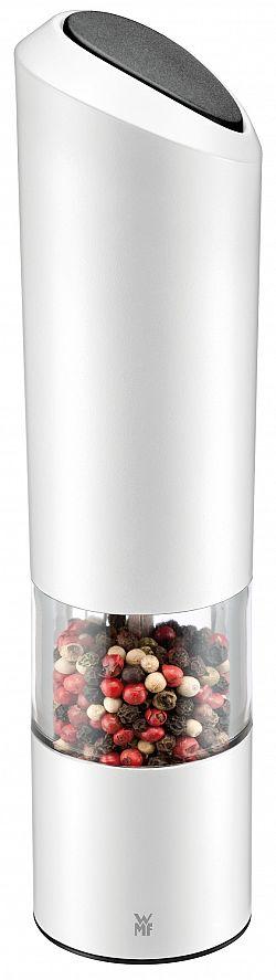 Elektrický mlynček na soľ/korenie WMF biely