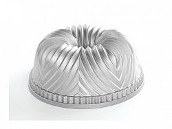 Nordic Ware Forma na bábovku Bavaria strieborná 2,3 l