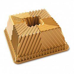 Nordic Ware Forma na bábovku štvorhranná zlatá, veľká