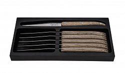 Sada steakových nožov Laguiole Innovation 6 ks dub