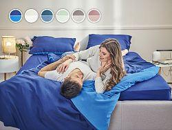 Posteľné obliečky Essentials Dormeo, 140x200 cm, modrá