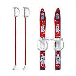Baby Ski 70 cm - detské plastové lyže - červené