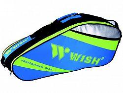 Bedmintonová taška WISH WB-3035 modro-zelená
