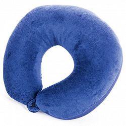 Cestovný vankúšik SPOKEY Adder II modrý