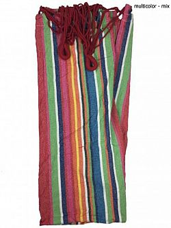 Hojdacia sieť bez výstuhy 200 x 95 cm - multicolor