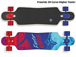 Longboard STREET SURFING Freeride 39 Curve Higher Faster