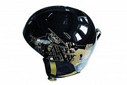 Lyžiarska prilba SPARTAN Snow helm M - čierna
