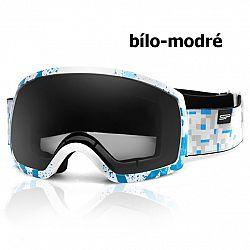 Lyžiarske okuliare SPOKEY Radium - bielo-modré