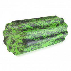 Masážny valec SPOKEY Soft Roll zeleno - sivý