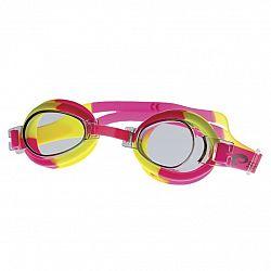 Plavecké okuliare SPOKEY Jellyfish - ružovo-žlté