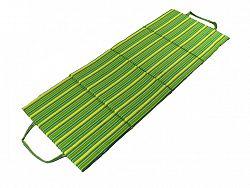 Plážové lehátko skladacie - zelené