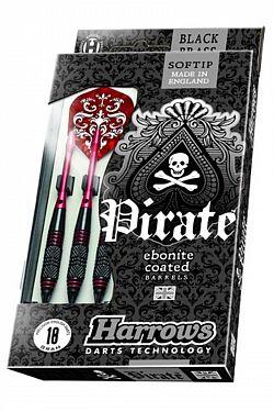 Šipky HARROWS Pirate softip 18g
