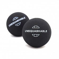 Squashové loptičky Unsquashable - 2ks - červená bodka