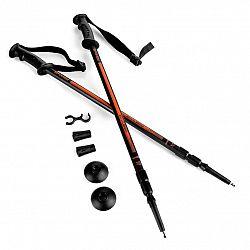 Trekingové palice SPOKEY Ekvilibro čierno - oranžové