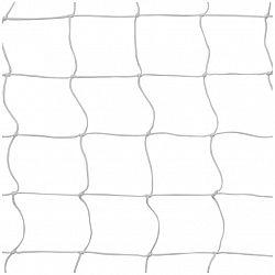 Volejbalová sieť s lankom biela