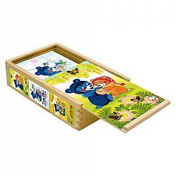 Bino Kocky Baribal v krabičke 15 kusov 13207