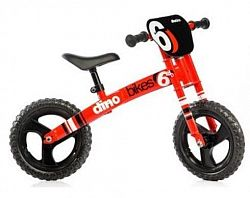 """DINO Bikes Detské odrážadlo 12"""" Runner 150R06 červený 150R06"""
