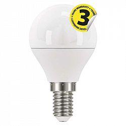 Emos Classic mini globe 6W E14 teplá biela ZQ1220