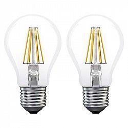 Emos filament A60 6W E27 teplá biela 2ks Z74260.2