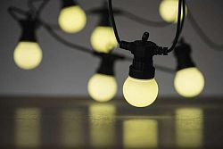 Emos Svetelná reťaz LED párty žiarovky mliečne 5m teplá biela ZY1939