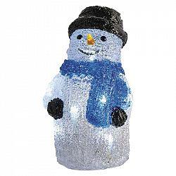 Emos Vianočná dekorácia LED SNEHULIAK s časovačom 8LED ZY2122