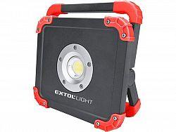 EXTOL 43134 Svietidlo LED nabíjateľné, 20W, 2000lm, 3,7V/6,6Ah Li-ion