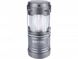 "EXTOL 43158 Svietidlo LED kempingové, 75+25lm, efekt ""plameň"", 128x85mm, 213g"