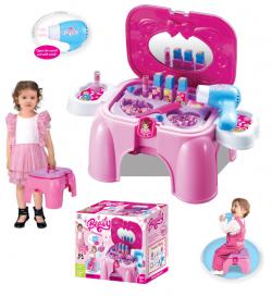G21 Detský kozmetický stolík so zrkadlom - stolček 690954