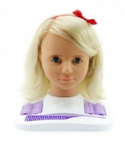 Hamiro Česacia hlava veľká blond s doplnkami v krabici 24x28x19cm 18681584