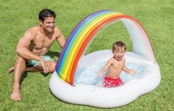 Intex Detský bazén dúha 57141